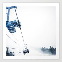 Lifts To The Ether Art Print