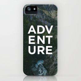 Adventure - Pine Mountain iPhone Case