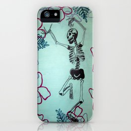 Dancing Bones iPhone Case
