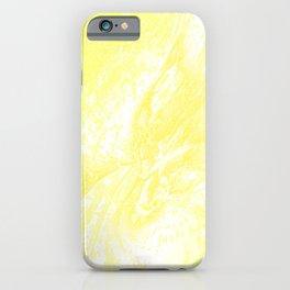 Splatter in Lemonade iPhone Case
