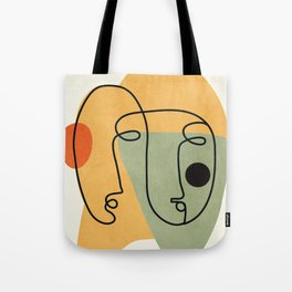 Abstract Faces 19 Tote Bag
