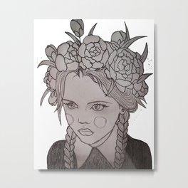 Family Values Metal Print