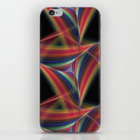 triangles iPhone & iPod Skins featuring Triangles by David Zydd