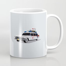 Ghostbusters Illustrated Ecto 1 Coffee Mug