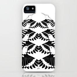 Hoopoe Bird Mirror iPhone Case