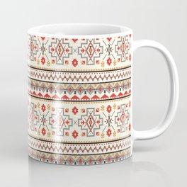 Native Aboriginal Tribal Pattern V.6 Coffee Mug