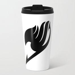 Fairy Tail Black Logo Travel Mug