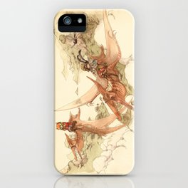 At the End of the World iPhone Case
