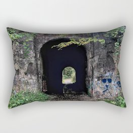 The Screaming Tunnel Rectangular Pillow