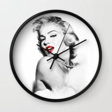 Marilyn Monroe - Blonde - Pop Art Wall Clock