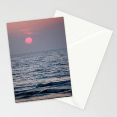 Sunset at Sea Stationery Cards
