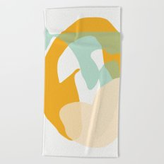 Matisse Shapes 7 Beach Towel