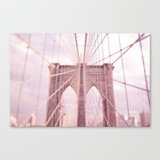 the lady from brooklyn Canvas Print