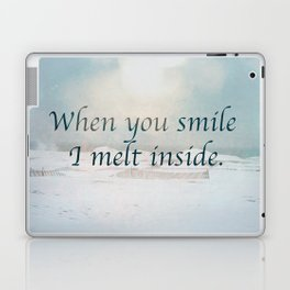 When you smile Laptop & iPad Skin