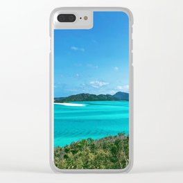 Hill inlet Clear iPhone Case