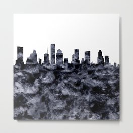 Houston Texas Skyline Metal Print