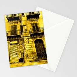 Abandoned Yellow Sicilian Sound Stationery Cards