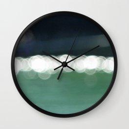 Sea Bokeh Wall Clock