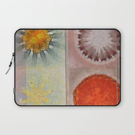 Flagonet Reality Flowers  ID:16165-093245-05721 Laptop Sleeve