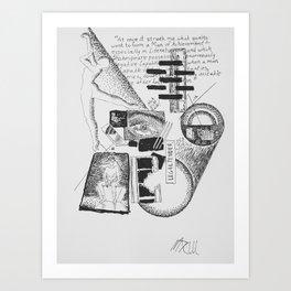 """Casablanca"" by Mauri Art Print"