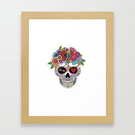 Lost Love WHITE Framed Art Print
