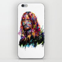 jared leto iPhone & iPod Skins featuring Jared Leto by ururuty