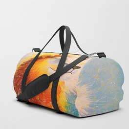 Happy lion Duffle Bag