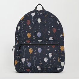 Elegant Party Balloons Vector Pattern Backpack