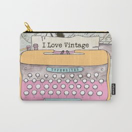 Typewriter #1 Carry-All Pouch