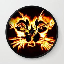 hellcat Wall Clock