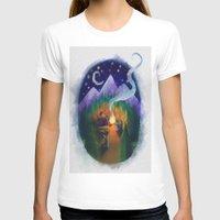 feet T-shirts featuring Feet by Jenelle Grenier