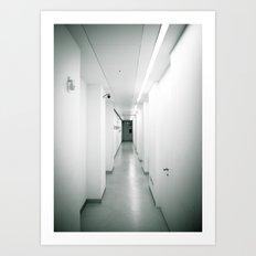 corridor... Art Print