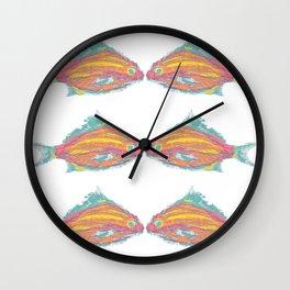fish tropical beach coastal  Wall Clock