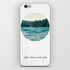 Life on the Lake iPhone & iPod Skin
