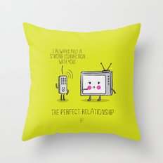 The Perfect Relationship 06 Throw Pillow