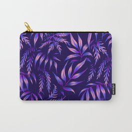 Brooklyn Forest - Purple Carry-All Pouch