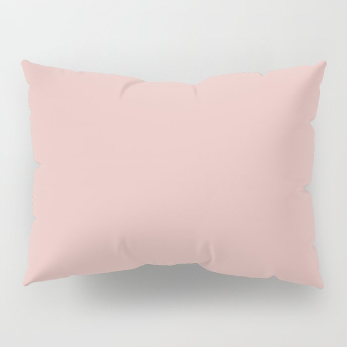 Solid Color Rose Gold Pink Pillow Sham