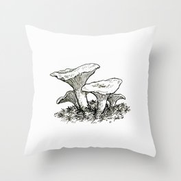 Kantarelli Throw Pillow