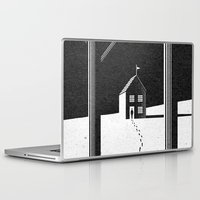 kafka Laptop & iPad Skins featuring Walking Home/Deposit NY by N / A