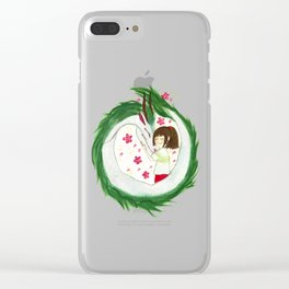 Watercolor Spirited Away - The Love Gathering Clear iPhone Case