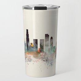 los angeles california skyline Travel Mug