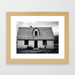 Little hause Framed Art Print