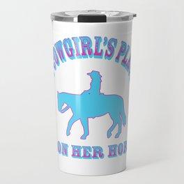 A Cowgirls Place Travel Mug