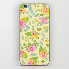 Floral Escape 1 iPhone & iPod Skin