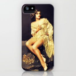 Mary Lange, Vintage Actress iPhone Case