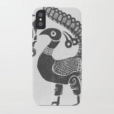 Peacock Symbolism Slim Case iPhone X
