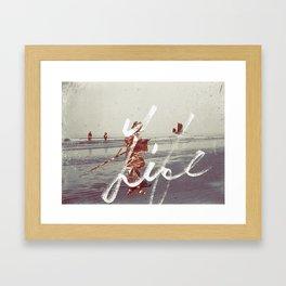 027 Framed Art Print