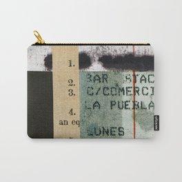 Spanish Calendar Carry-All Pouch