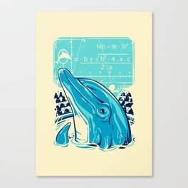 Aquatic problem Canvas Print