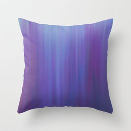 Violet Chromatic Throw Pillow